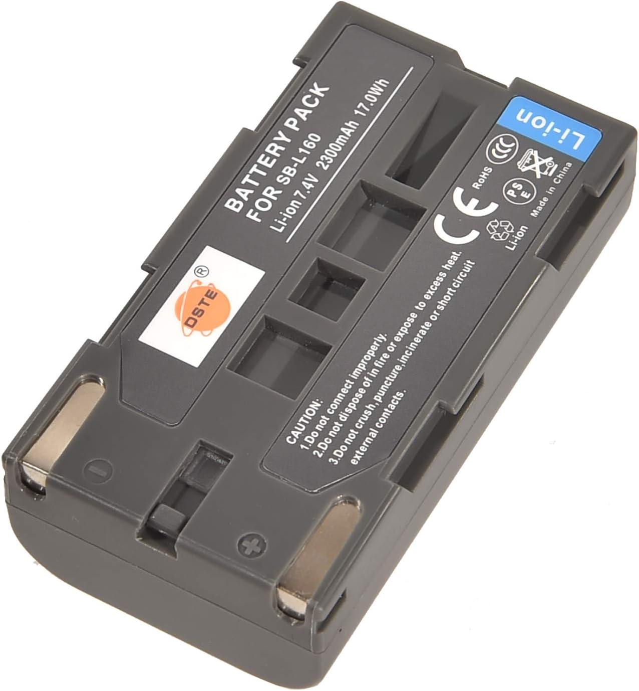 Batería Li-ion tipo sb-l160 para Samsung vp-l700u l710 l750