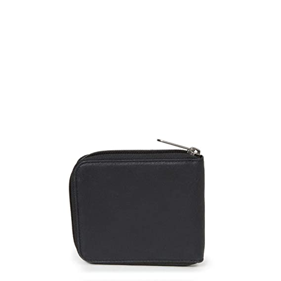Eastpak Authentic Monedero, 12 cm, litros, Negro Ink Leather ...