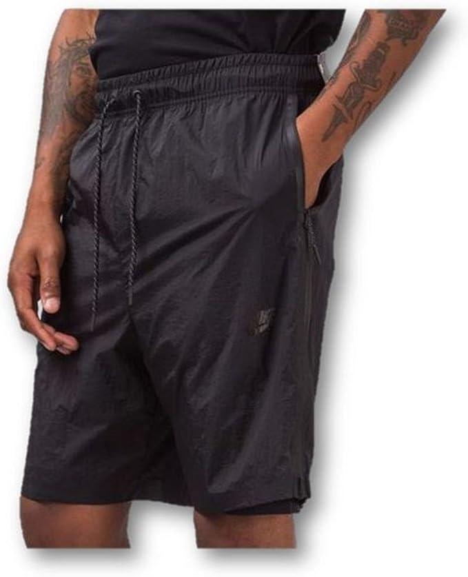 Nike – Zapatillas de Deporte para Hombre Tech Pack hypermesh Pantalones Cortos (Grande) 834345 Gris carbón: Amazon.es: Deportes y aire libre