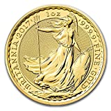 2017 UK Great Britain 1 oz Gold Britannia BU 1 OZ Brilliant...