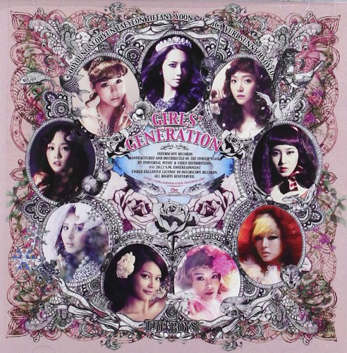 CD : Girls' Generation - The Boys
