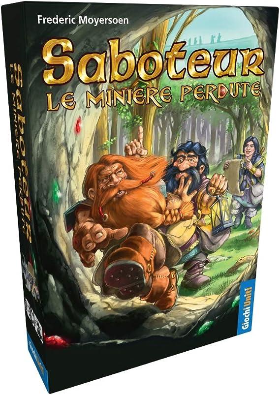 Giochi Uniti - Saboteur: Las Mineras perdidas Juego de la línea, Multicolor, 1: Amazon.es: Juguetes y juegos