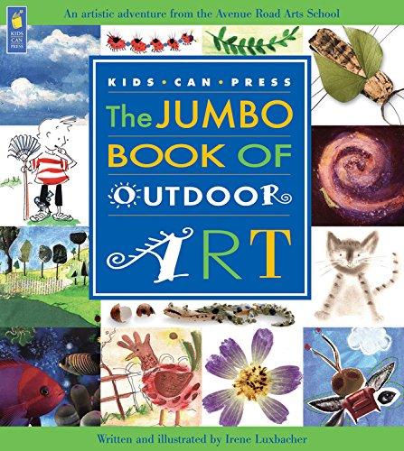 Read Online The Jumbo Book of Outdoor Art (Jumbo Books) pdf