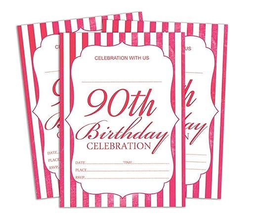 Darling Souvenir Blanco Invitación Tarjeta de cumpleaños para ...