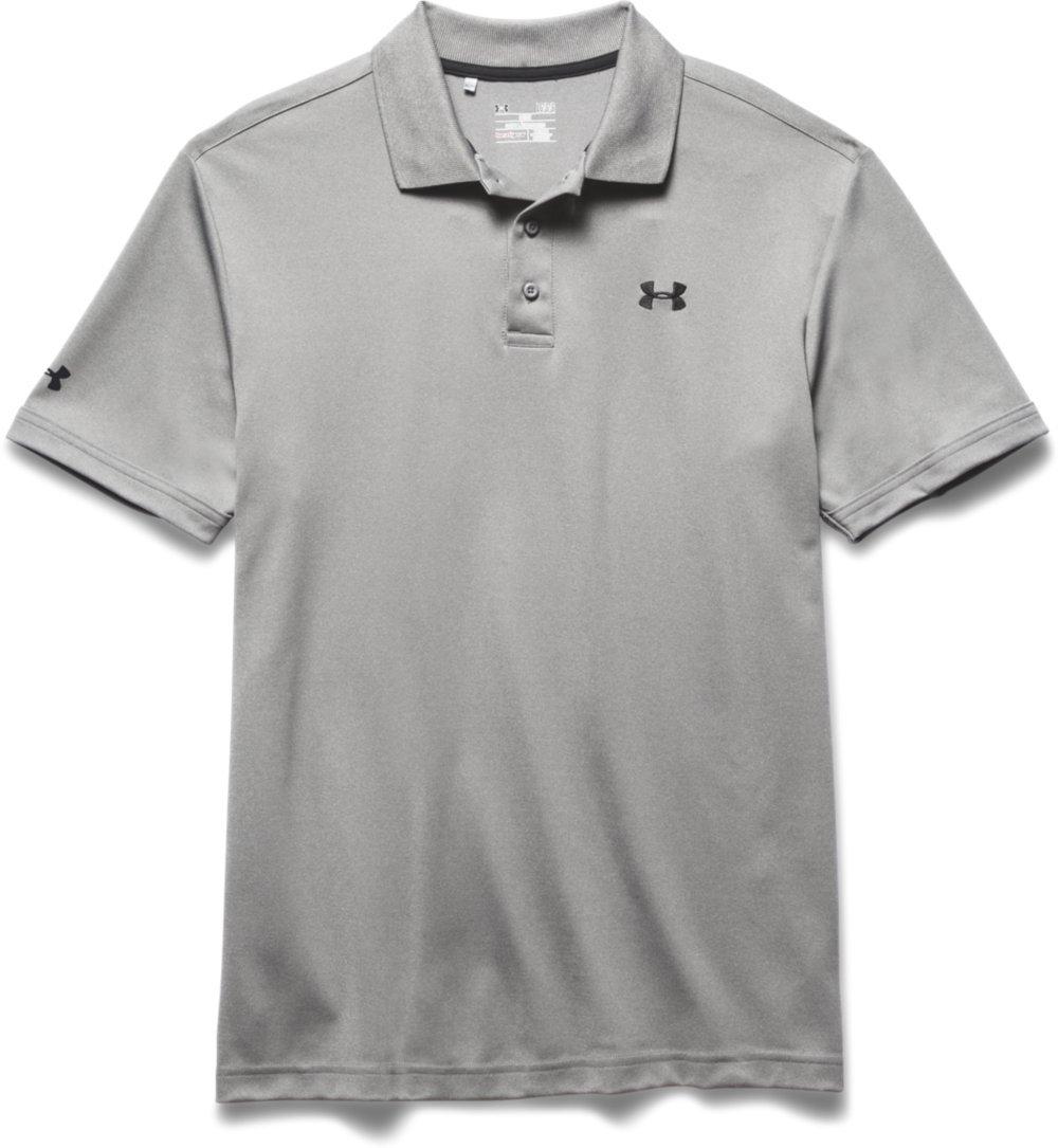 (アンダーアーマー) UNDER ARMOUR パフォーマンスポロ(ゴルフ/ポロシャツ/MEN)[1242755] B017EZSQNG 2X Tall|グレーヘザー/ブラック グレーヘザー/ブラック 2X Tall
