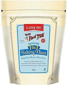 Bob's Red Mill Gluten Free 1 to 1 Baking Flour, 623g