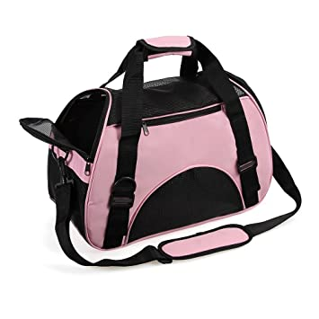 Cat Carrier Small Pet Travel Carrier Fabric Pet Carrier Airline