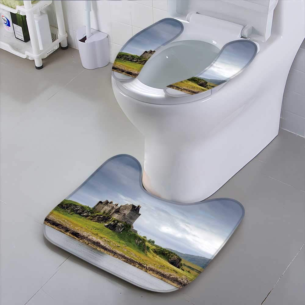 HuaWu-home Universal Toilet Seatdu Castle in Daylight isle of Mull Scotland Safety and Hygiene