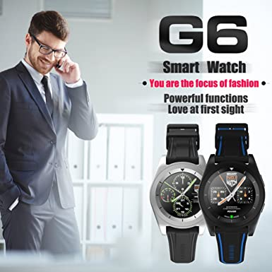 Amazon.com: LiChiLan Smart Watch, NO.1 G6 Fashion Sport ...
