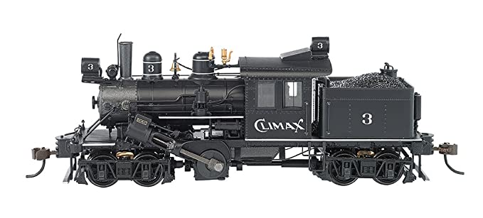 Bachmann Industries Trains 50-Ton Two Truck Climax Dcc Equipped Climax #3  Ho Scale Steam Locomotive
