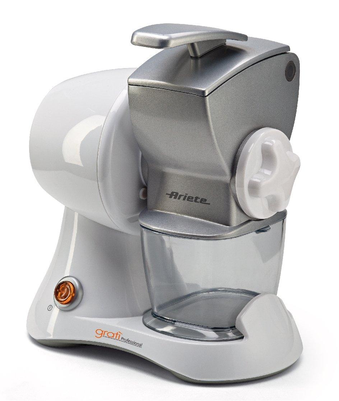 Ariete 447 Gratì 2.0 - Grattugia Elettrica Ricaricabile Senza Filo, Lunga autonomia fino a 1kg di formaggio, Rullo acciaio inox, Arancione 00C044700AR0 00C044700AR0_