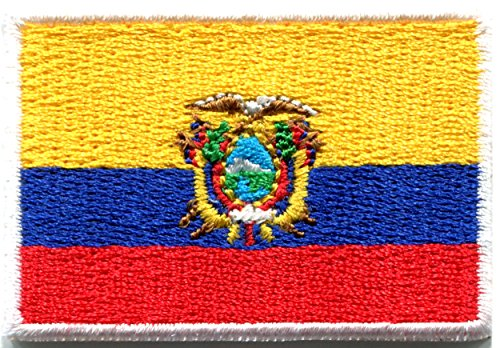 Ecuador Ecuadorian America embroidered applique
