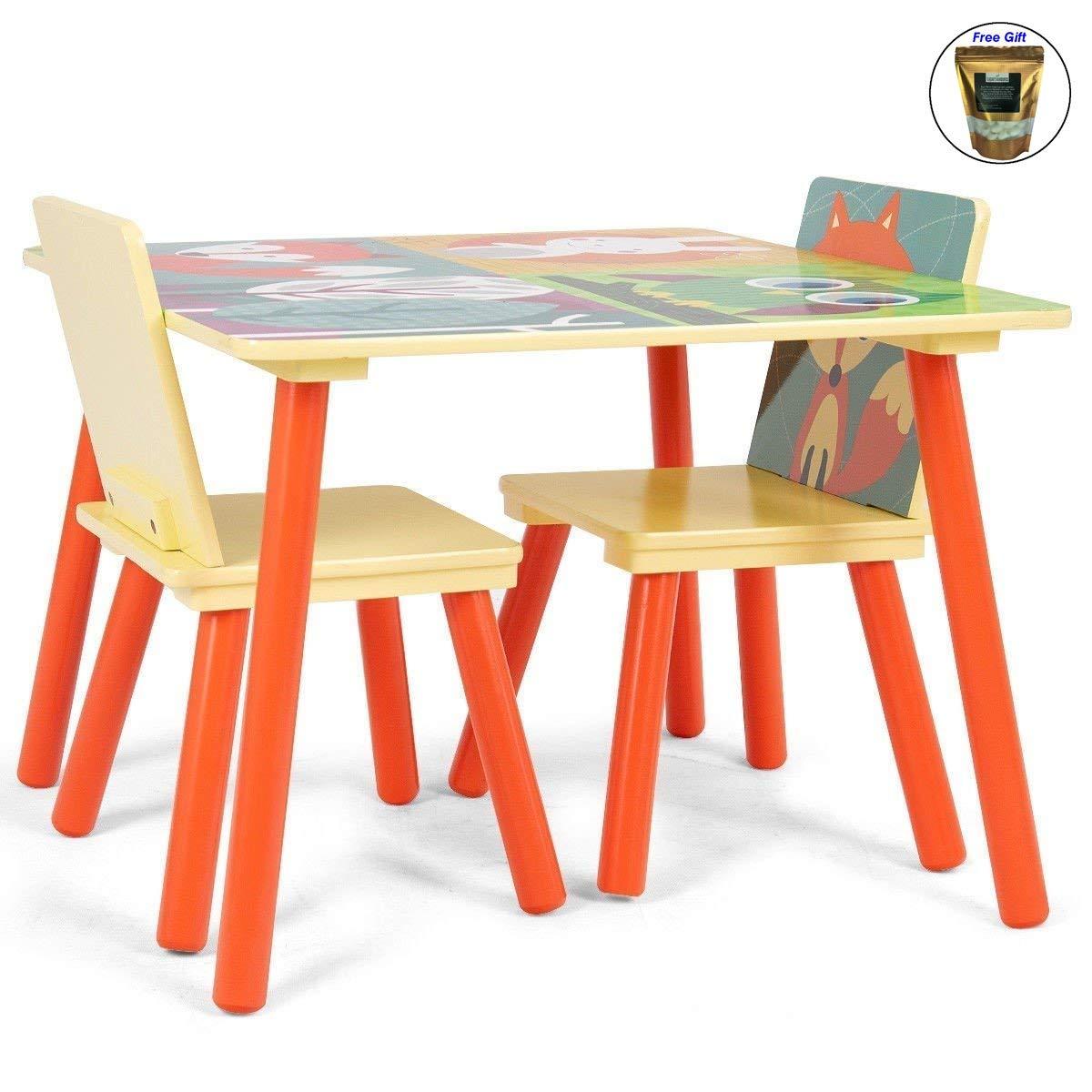 【正規品質保証】 子供用テーブルと2椅子セットデスク漫画パターン+無料e-book B07F878CNG, 門川町:c6503123 --- diesel-motor.pl