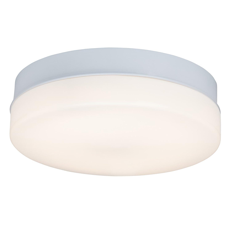 LED Wand- und Deckenleuchte 36cm mit Fernbedienung dimmbar (max. 1.600 Lumen), Lichtfarbe wählbar (3000K - 6000K), IP44 spritzwassergeschützt, Metall