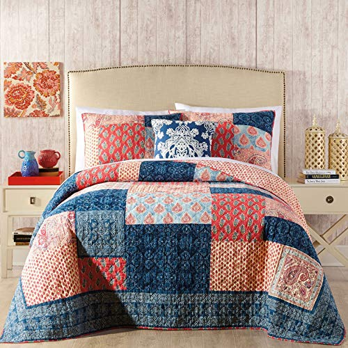 BrylaneHome Jessica Simpson Grace Quilt - Multi, Twin ()