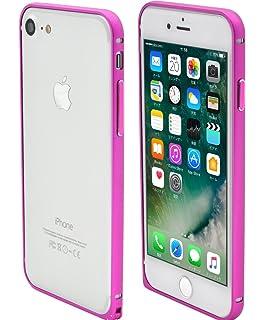 18b43b441e PLATA iPhone 7 / iPhone 8 アルミ バンパー ケース カバー アイフォン7 【 ビビッドピンク vividpink