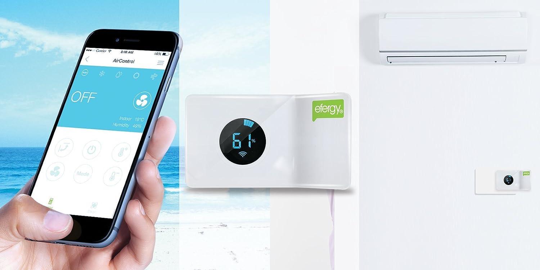 :Efergy AirControl AC-EU- Termostato Inteligente Para Aire Acondicionado (240V): Amazon.es: Bricolaje y herramientas