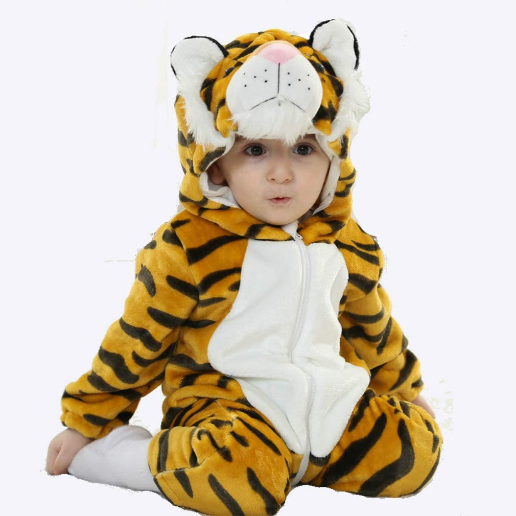 FuMian Baby Kids Boy Girl Infant Romper Jumpsuit Bodysuit Cotton Clothes Outfit Comfortable