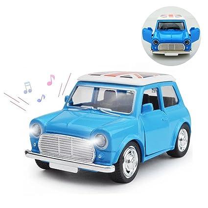 Amazon Com Joyjam Mini Cooper Toy Car Model 4 1 38 Scale Cute