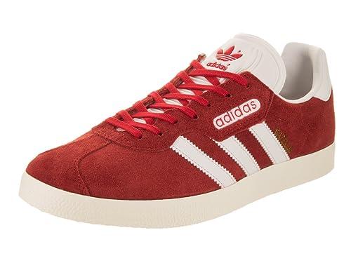 adidas Men Gazelle Super (redVintage WhiteGold Metallic)