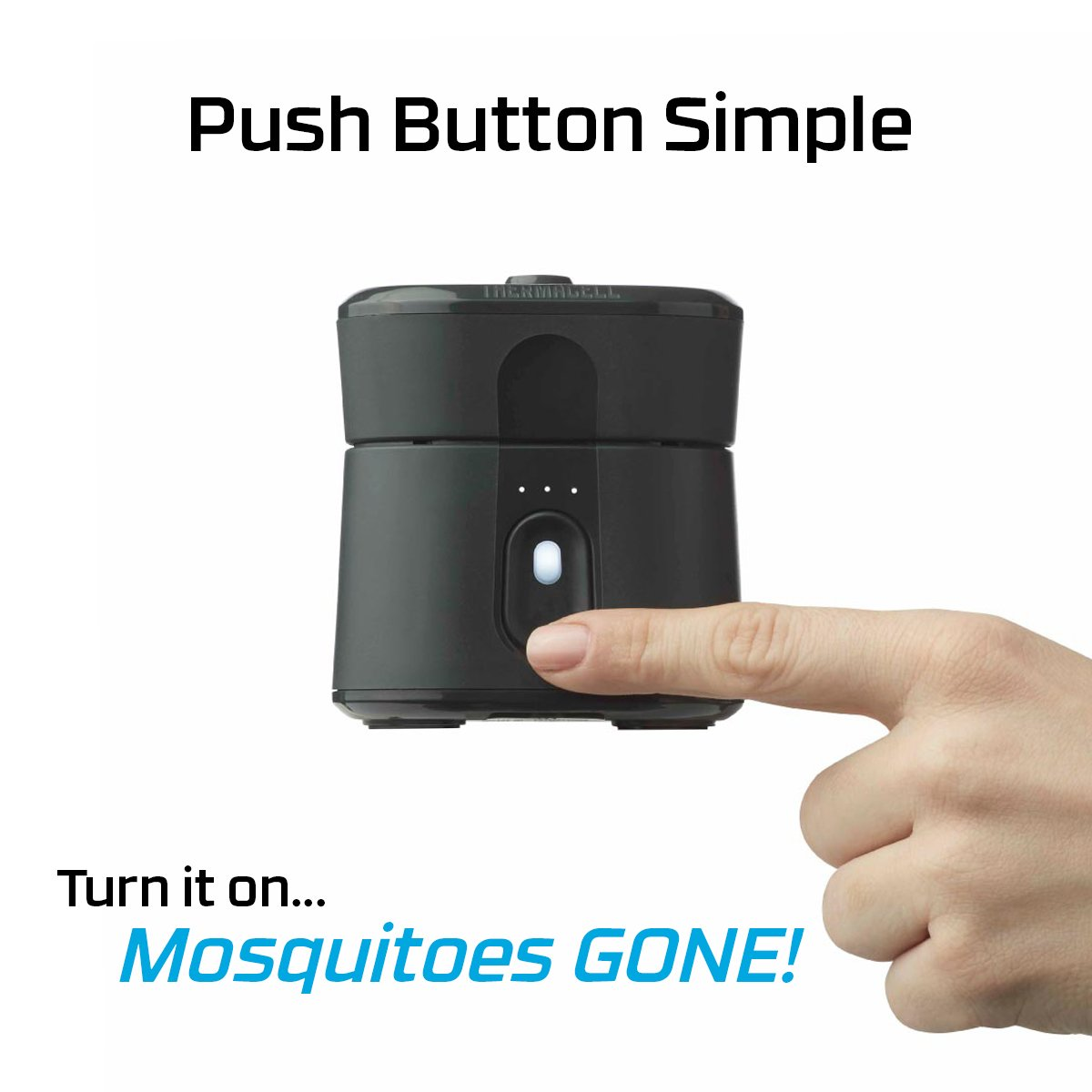 Thermacell Radius Zone Mosquito Repellent Black Sports Electronic Repeller Electronicslab Outdoors