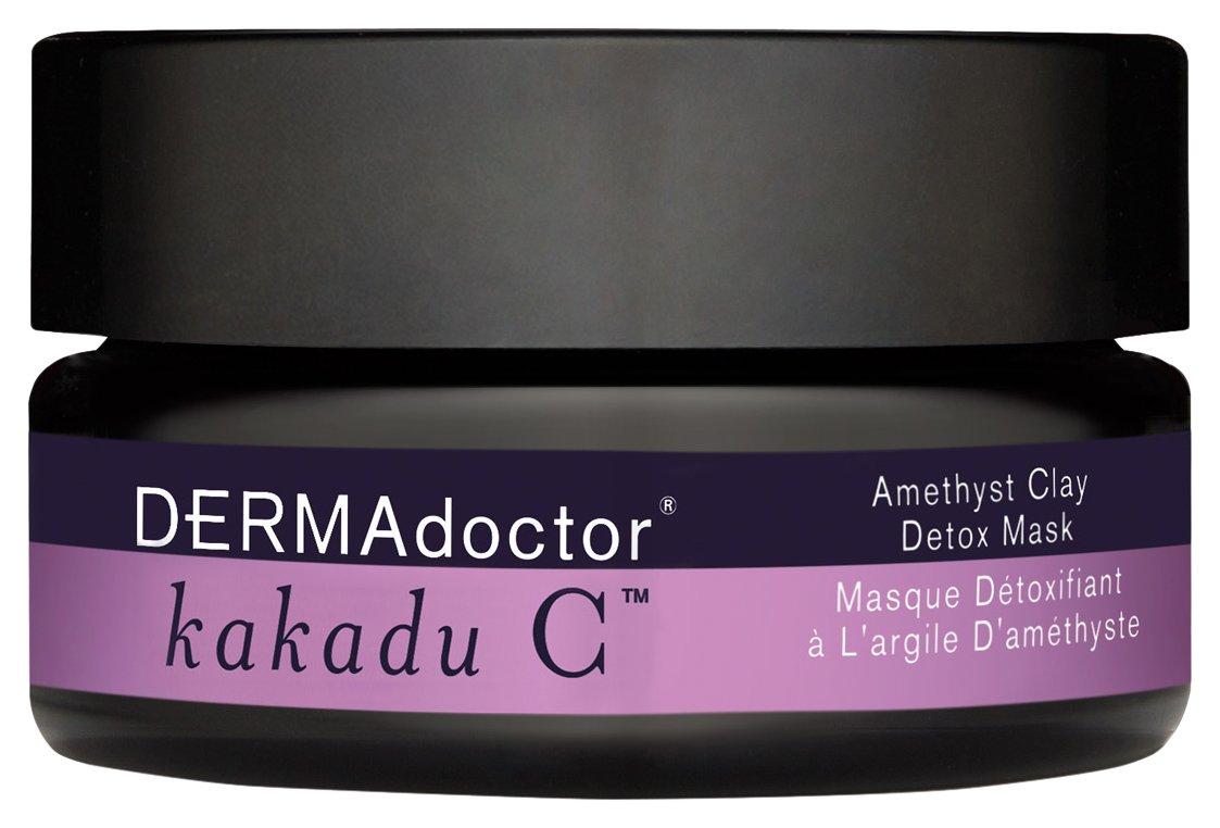 DERMAdoctor Kakadu C Amethyst Clay Detox Mask, 1.7 Oz