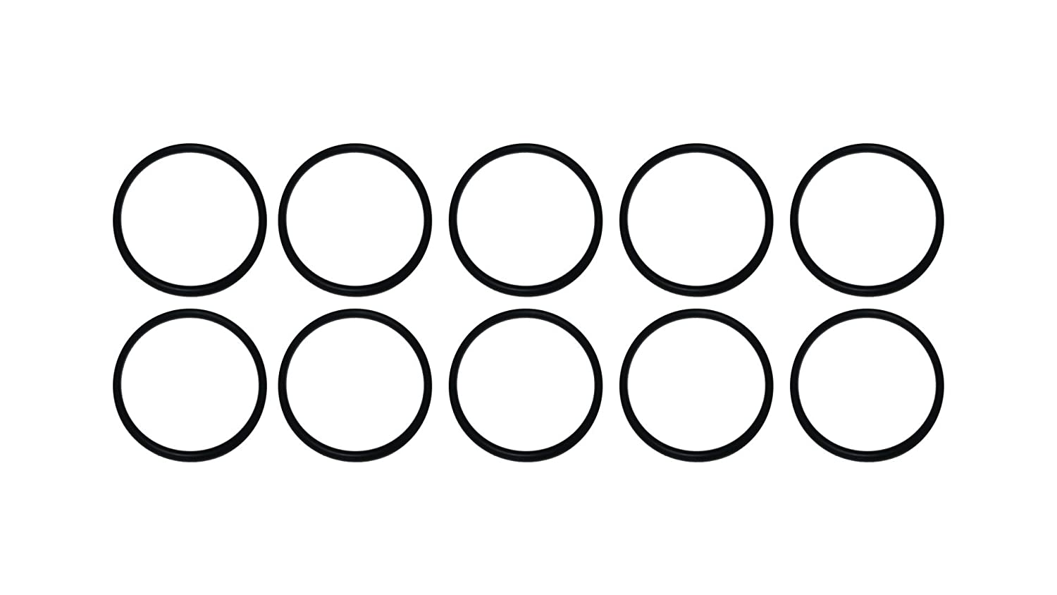 Pack of 25 Sterling Seal ORBUNNSF70D018X25 018 Buna//Nitrile NBR 70D NSF Approved O-Ring