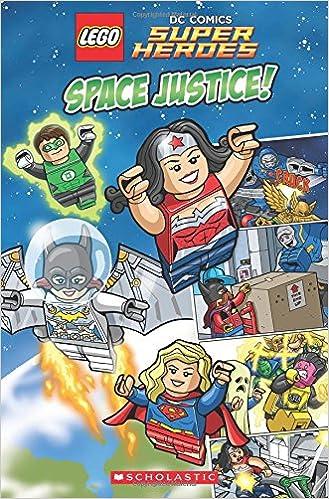 Amazon.com: Space Justice! (LEGO DC Comics Super Heroes ...