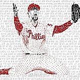 2008 Philadelphia Phillies World Series Word Art Poster - Phillies Decor - Baseball Art - Great Gift