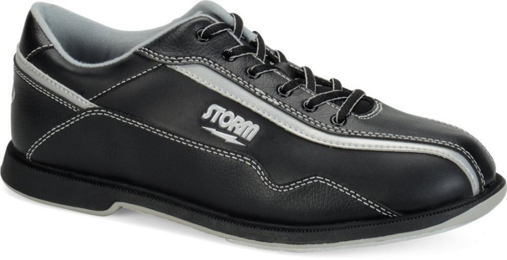 Storm Volkan Bowling Shoes, Black/Silver, 7.5