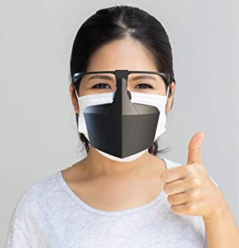 virus isolation face mask