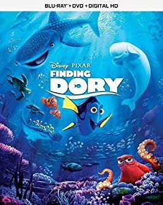 Cover Image for 'Finding Dory - [Blu-ray + DVD + Digital HD]'