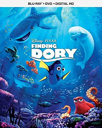 amazon com finding dory blu ray ellen degeneres albert brooks