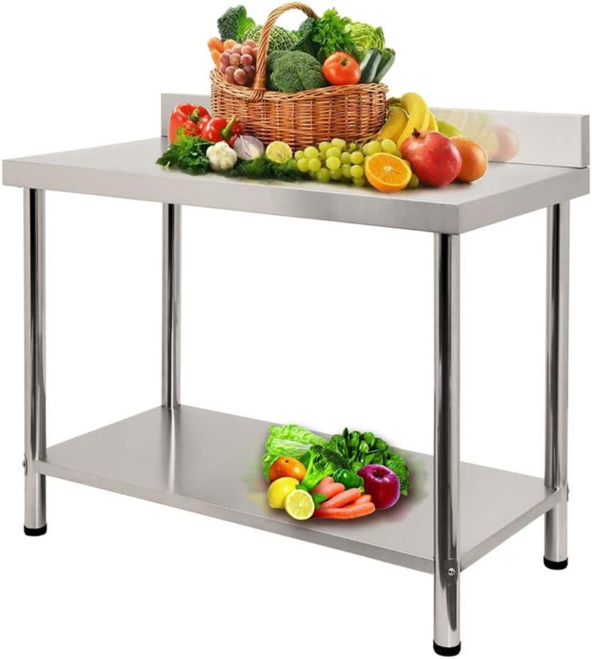 L x B x H: 100 * 60 * 85 cm per Cucina Professionale ...