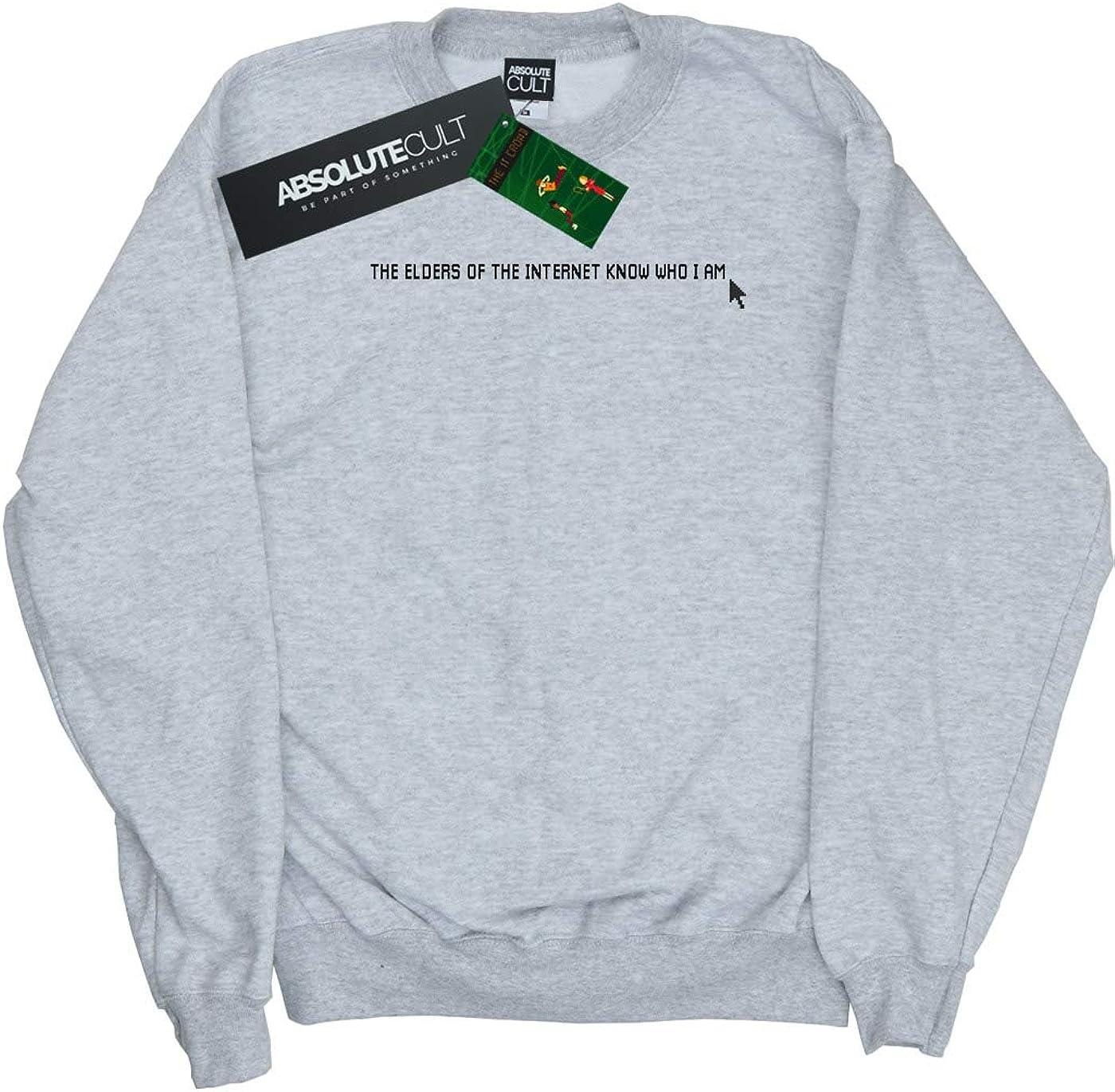 Absolute Cult The IT Crowd Girls The Elders Know Sweatshirt