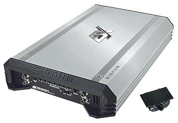 ESX Quantum SE 2000D - Amplificador de sonido para coche (consumo continuo de 1 x