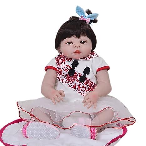 Amazon.es: Muñeca de recién nacido, impermeable, muñeca de ...