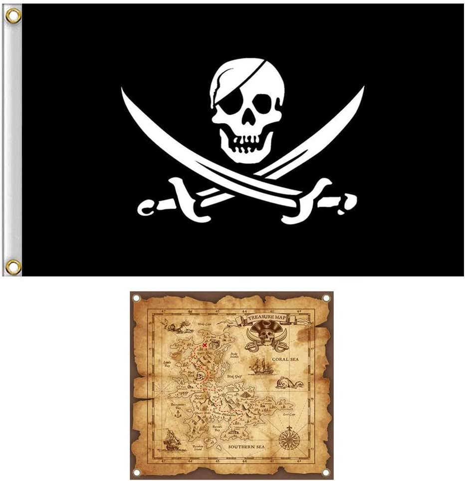 Jolly Roger Map
