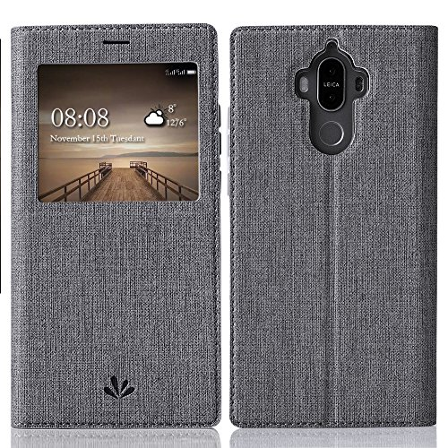 Feitenn Huawei Mate 9 case Premium Leather PU Flip...