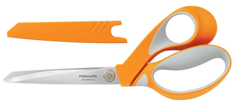 Tijera : Fiskars Crafts 8195 RazorEdge Softgrip Fabric Sh...