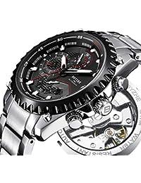 Men Automatic Mechanical Watch Sports Luminous Luxury Brand Business Fashion Casual Waterproof Stainless Steel...