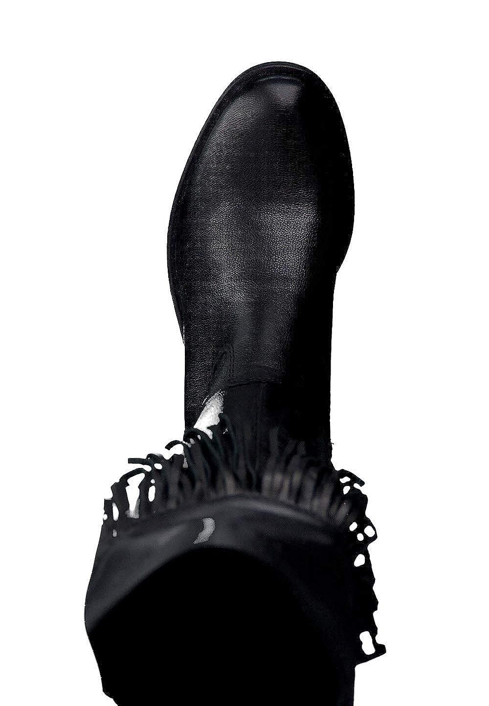 Tamaris 2555527001, Bottes pour Femme noir Schwarz, 37