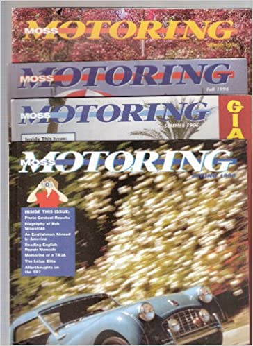 Moss Motoring Summer & Winter 1996: Amazon com: Books