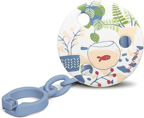 Suavinex - Broche de chupetes para bebés +0 meses. Broche pinza ...