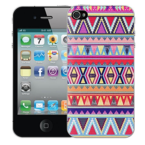 Mobile Case Mate iPhone 4 Silicone Coque couverture case cover Pare-chocs + STYLET - Fire pattern (SILICON)