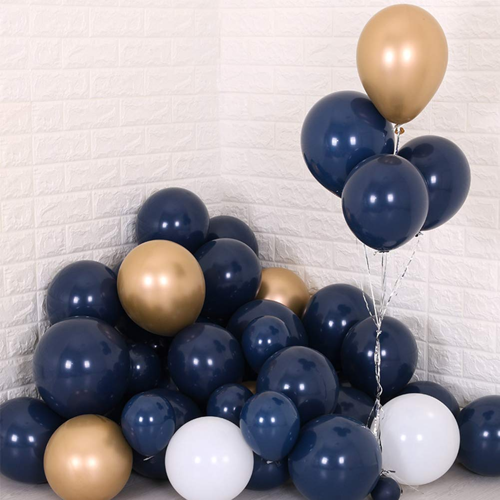 Air-Filled Word BalloonBaby 5 Ct Amscan 3376330 Gold Party Decor