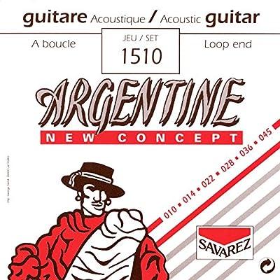 Savarez 668727 - Cuerdas para Guitarra Acústica Argentine juego ...