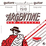 Savarez 1510 Argentine Acoustic Jazz Guitar Strings, Standard Tension Loop End