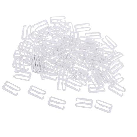 non-brand Sharplace 100 Unids Broche de Presión de Sujetador de Hierro Ideal Uso para