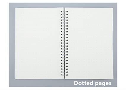 2 Piezas Bullet Journal A6 Notebook Pp Grid Dotted Dot Blank ...